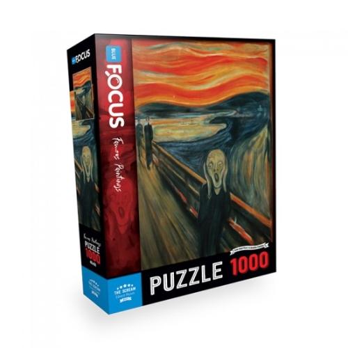 The Scream 1000 Parça Puzzle - Focus