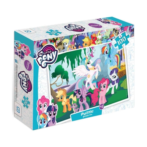 My Little Pony 100 Parça Kutulu Puzzle