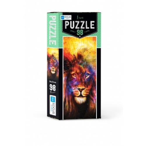 Aslan 98 Parça Kutulu Puzzle