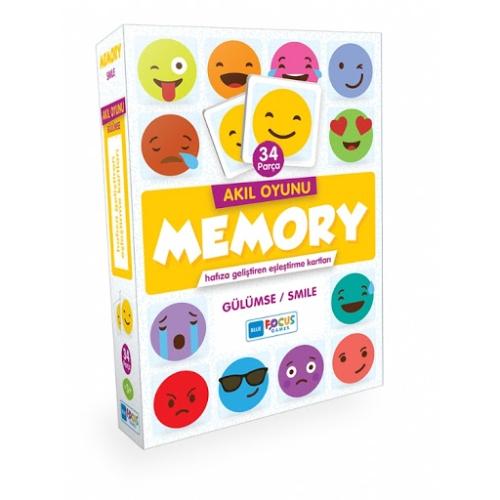 Memory Eşleştirme Kartları - Gülümse