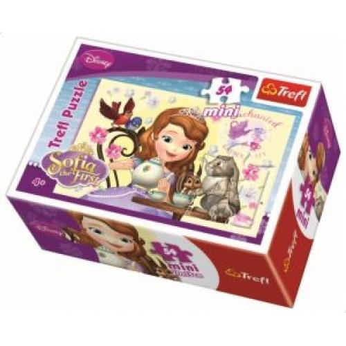 Disney Sofia 54 Parça Mini Puzzle - 19469