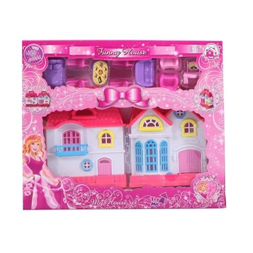 Funny House Oyuncak Sesli ve Işıklı Ev Küçük Boy