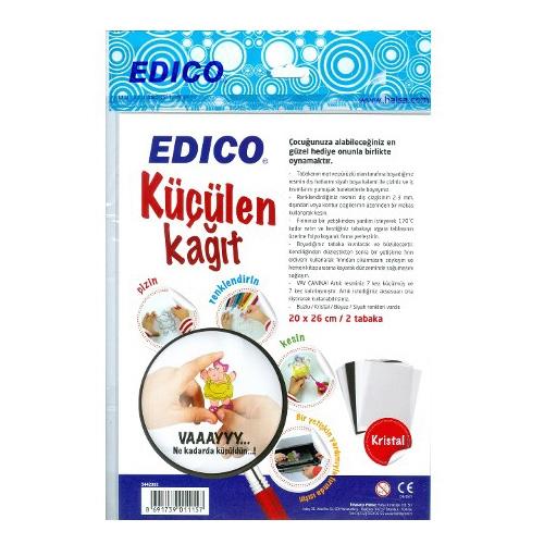 Edico 2li Küçülen Kağıt 20x26 cm