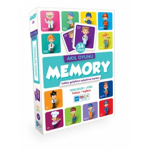 Memory Eşleştirme Kartları - Meslekler