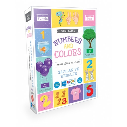 Akıllı Eğitim Kartları - Sayılar ve Renkler
