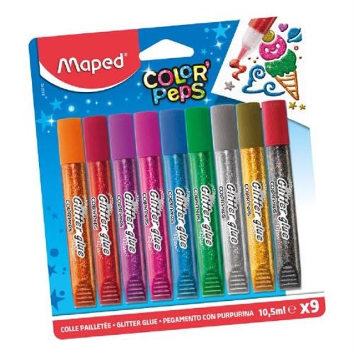 Maped 8 Renk Simli Yapıştırıcı