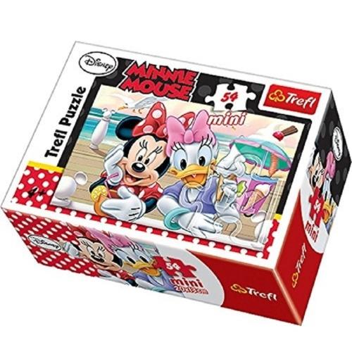 Minnie Mouse 54 Parça Mini Puzzle - 19475