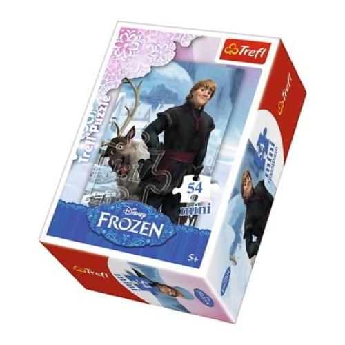 Disney Frozen 54 Parça Mini Puzzle - 19503