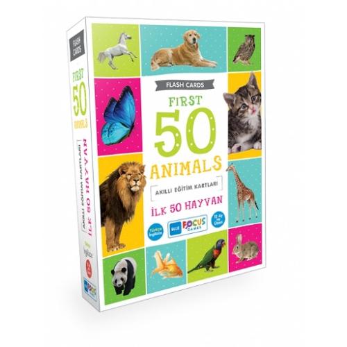 Akıllı Eğitim Kartları - İlk 50 Hayvan