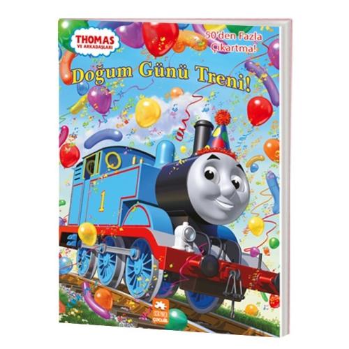 Thomas ve Arkadaşları - Doğum Günü Treni Çıkartmalı Aktivite Kitabı
