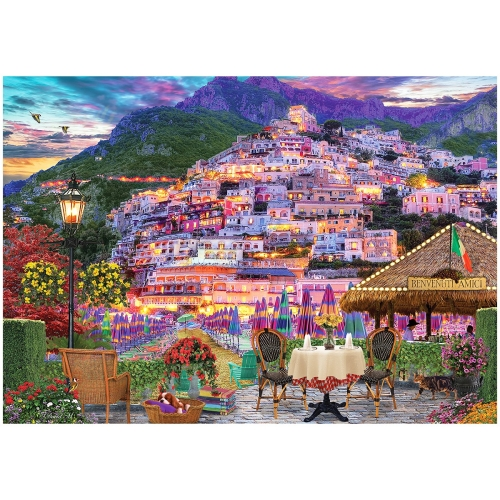 Lights Of Amalfi 1000 Parça Puzzle