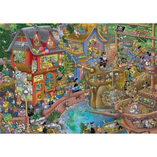 Pontcheffs Harbour 2000 Parça Puzzle