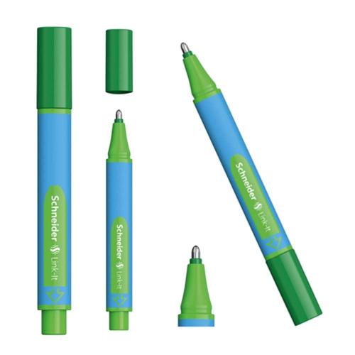 Schneider Link-It Slider Tükenmez Kalem - Yeşil