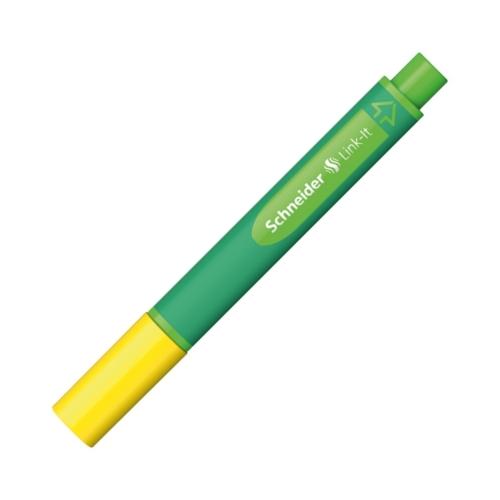 Schneider Link-It Mini Keçe Uçlu Kalem - Golden Yellow