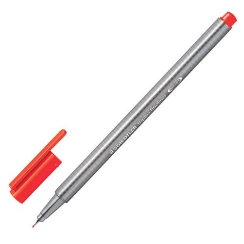 Steadtler Triplus Fineliner 0.3 mm Neon Kırmızı 334-201