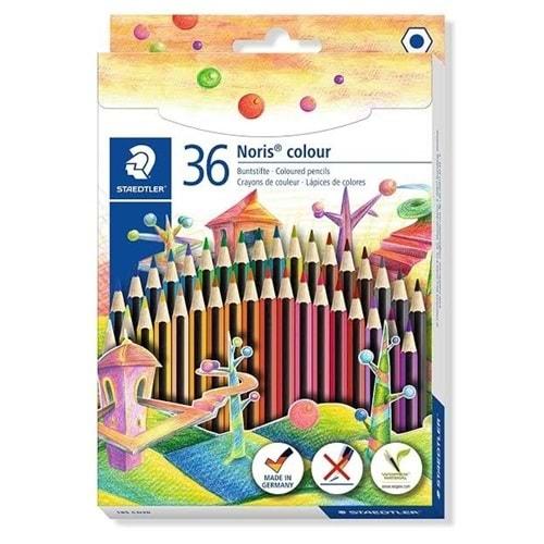Staedtler Noris Color 36 Renk Kuru Boya