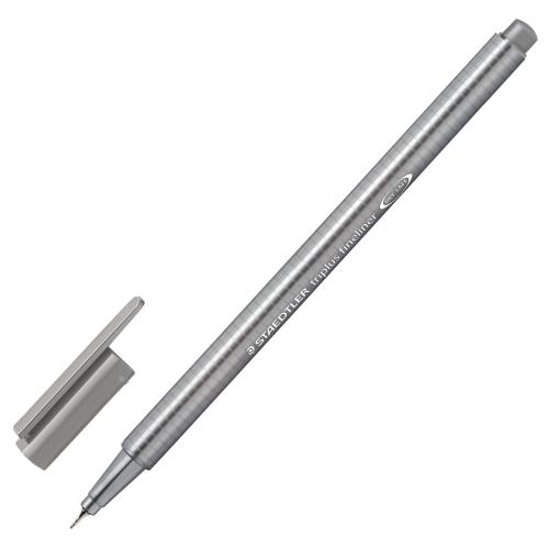 Steadtler Triplus Fineliner 0.3 mm Gri 334-8