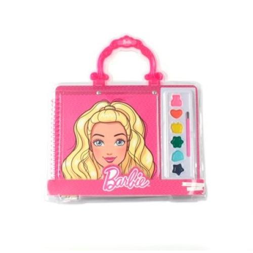 Barbie Çantalı Boyama Seti