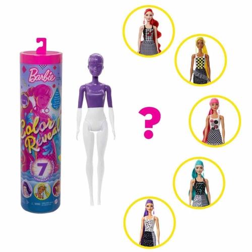 Barbie Color Reveal Renk Değiştiren Işıltılı Sürpriz Bebekler Seri 2