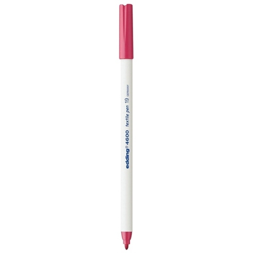 Edding 4600 Tekstil Kumaş Kalemi - Karmin Kırmızısı