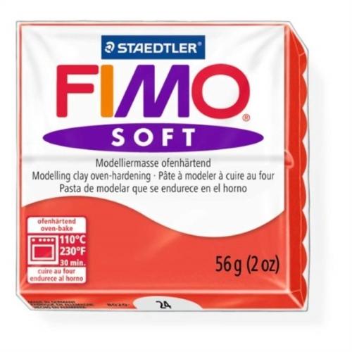Fimo Soft 57 gr Modelleme Kili - 24 Indian Red