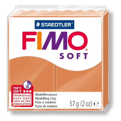 Fimo Soft 57 gr Modelleme Kili - 76 Cognac