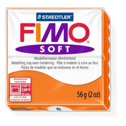Fimo Soft 57 gr Modelleme Kili - 42 Tangerine