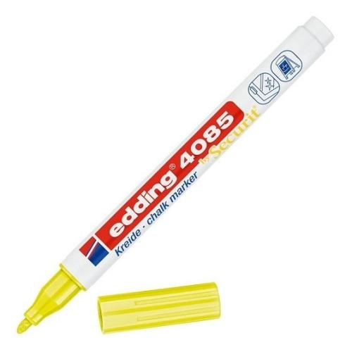 Edding Likit Tebeşir Kalemi - Neon Sarı