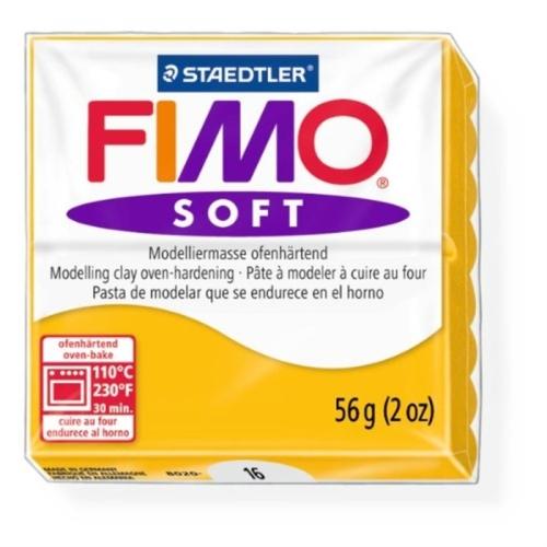 Fimo Soft 57 gr Modelleme Kili - 16 Sunflower