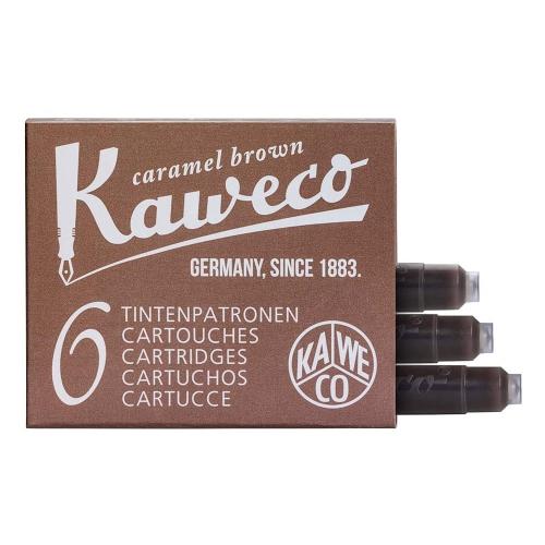 Kaweco Dolma Kalem Kartuşu 6lı - Kahverengi