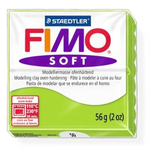 Fimo Soft 57 gr Modelleme Kili - 50 Apple Green
