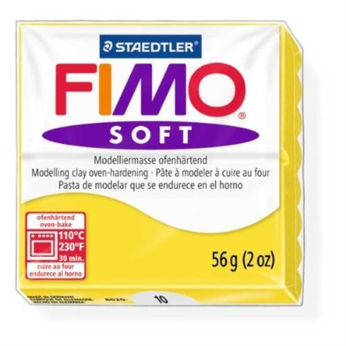Fimo Soft 57 gr Modelleme Kili - 10 Lemon