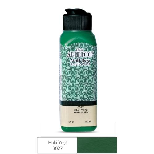 Artdeco Akrilik Boya 140 ML Haki Yeşil - 3027