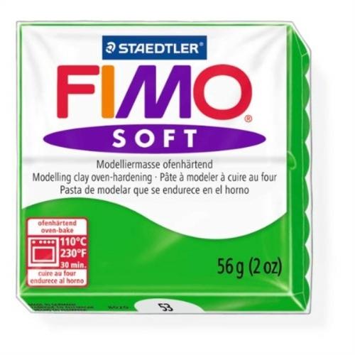 Fimo Soft 57 gr Modelleme Kili - 53 Tropical Green