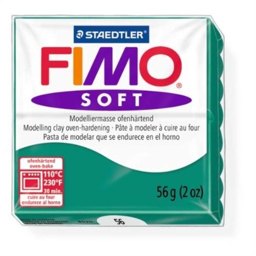 Fimo Soft 57 gr Modelleme Kili - 56 Emerald