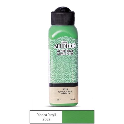 Artdeco Akrilik Boya 140 ML Yonca Yeşili - 3023