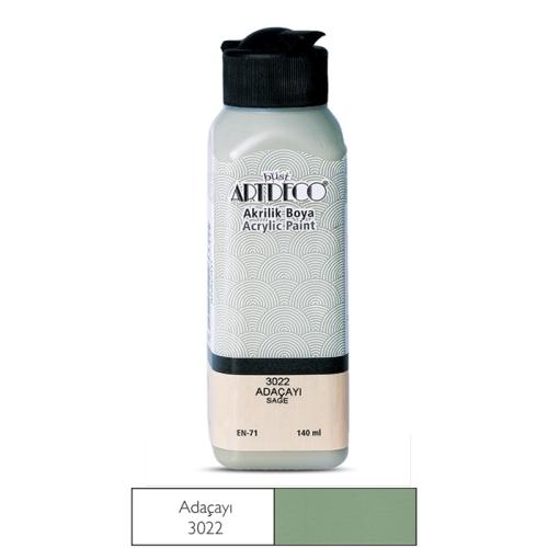 Artdeco Akrilik Boya 140 ML Adaçayı - 3022