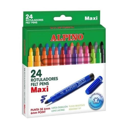 Alpino Keçeli Kalem Maxi 24lü