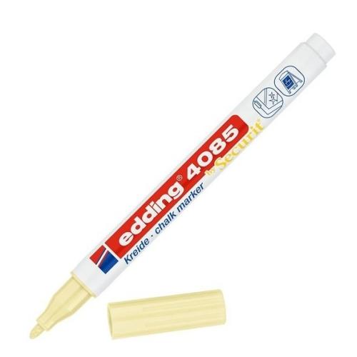 Edding Likit Tebeşir Kalemi - Pastel Sarı