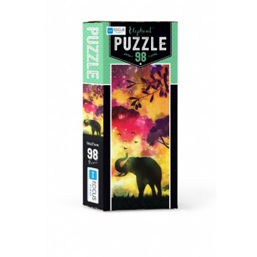 Elephant 98 Parça Kutulu Puzzle