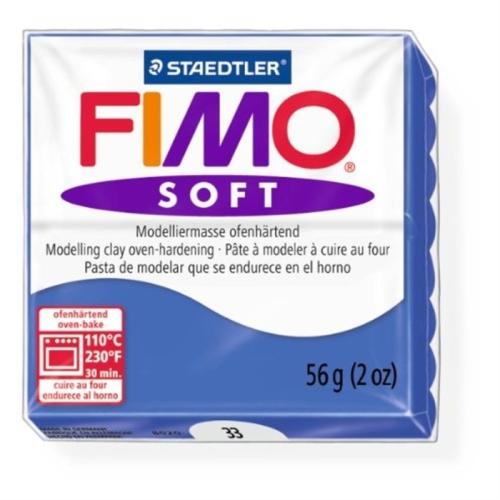 Fimo Soft 57 gr Modelleme Kili - 33 Brilliant Blue