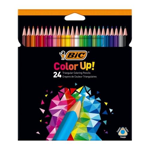 Bic Intensity Color Up 24 Renk Kuru Boya