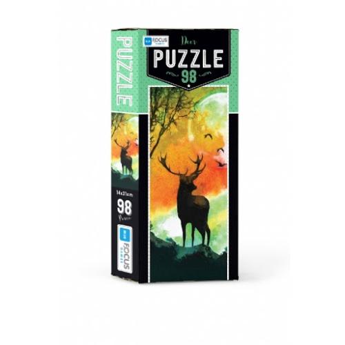 Deer 98 Parça Kutulu Puzzle