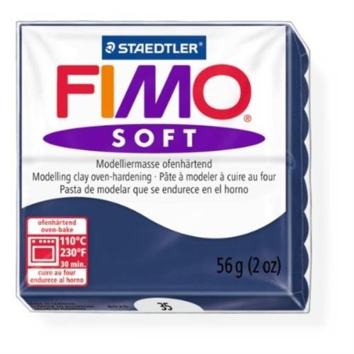 Fimo Soft 57 gr Modelleme Kili - 35 Windsor Blue