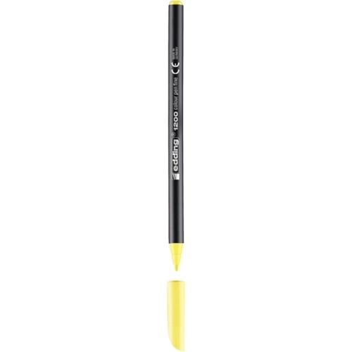 Edding 1200 Grafik Kalemi - Pastel Sarı