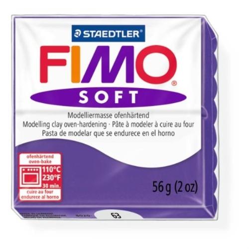 Fimo Soft 57 gr Modelleme Kili - 63 Plum