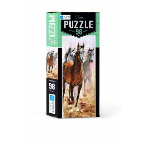 Horse 98 Parça Kutulu Puzzle