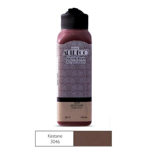 Artdeco Akrilik Boya 140 ML Kestane - 3046