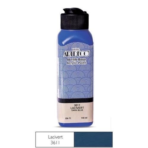 Artdeco Akrilik Boya 140 ML Lacivert - 3611