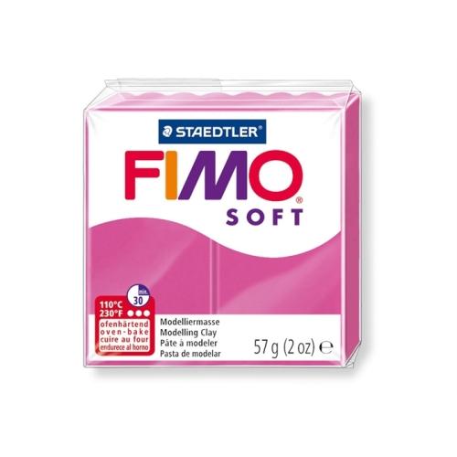 Fimo Soft 57 gr Modelleme Kili - 22 Raspberry